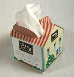 Custom House Shaped Tissue Holder
