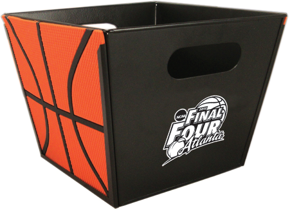 Basket with Basketball Siding