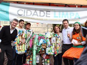 Semana Cidade Limpa é aberta no Largo Glênio Peres