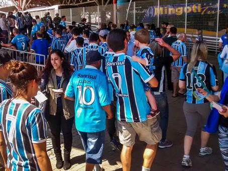 Prefeitura e Grêmio promovem ação ambiental no entorno da Arena