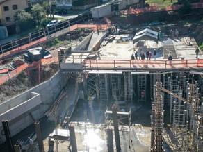 Do alto: confira fotos da construção de piscinão contra alagamentos em Porto Alegre