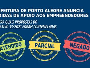Medidas de apoio aos empreendedores são anunciadas em Porto Alegre