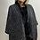 Thumbnail: Malissa J Faux Fur Tweed Cape