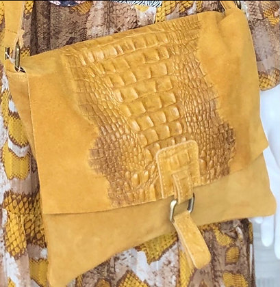 Marola Real Leather Crossbody Bag