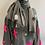 Thumbnail: Grey Cashmere pom pom pashmina
