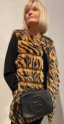 Tiger Faux Fur Gilet