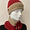 Thumbnail: 3 in 1 Hat, Mask & Snood Red