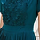 Thumbnail: Mayfair Elegant Teal Pleated Dress