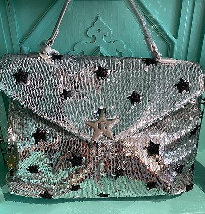 Alex Max Silver Star Luxury Bag