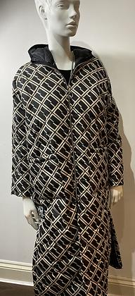 Monogram Designer Quilted Margo Coat