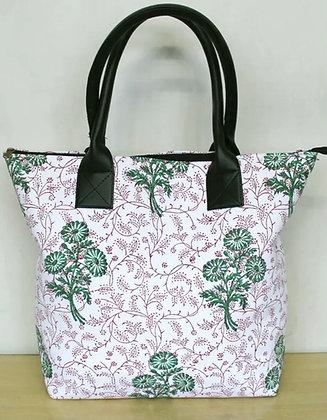 Malli Block Print Bag
