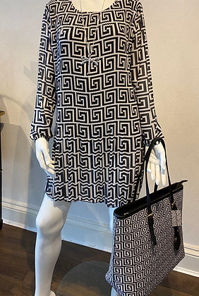 Gigi Monochrome Dress