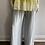 Thumbnail: Margo Silver Silk Palazzo Pants