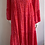 Thumbnail: Red and Pink Boho Leopard Maxi Dress