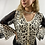 Thumbnail: Paris Leopard Bell Sleeve Top