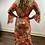 Thumbnail: Coral Snake Print Maxi Dress