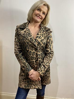 Couture Leopard Coat