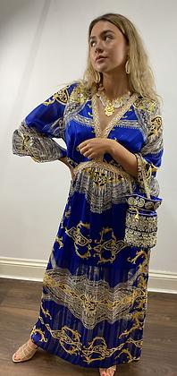 Royal Blue Couture Dress