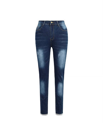 Pearl Bow Jeans
