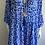 Thumbnail: Royal Blue Leopard Boho Dress