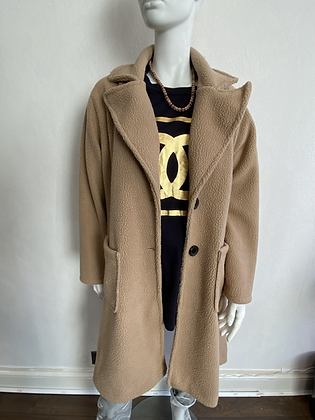 Spring Camel Teddy Coat