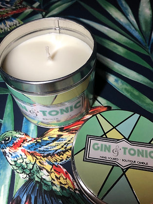 Gin & Tonic Happy Hour Candle