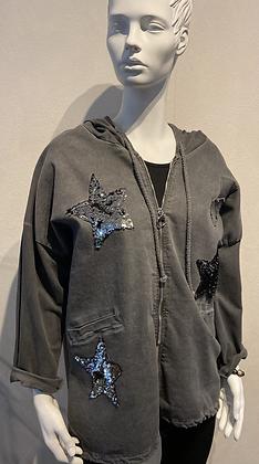 Star Hooded Jacket