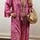 Thumbnail: Boho Maxi Dress Hot Pink