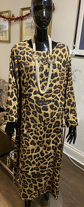 Couture Leopard Dress