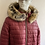 Thumbnail: Designer Quilted Faux Fur Hooded Coat
