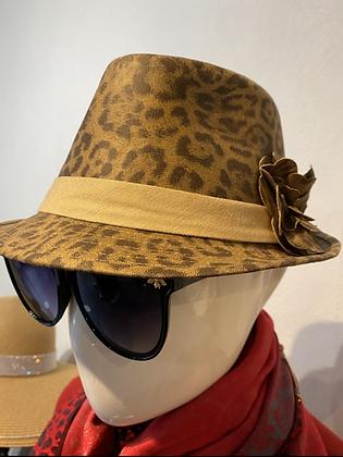 Funky Leopard Hat