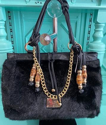 Large Faux Fur Luxury Bag
