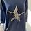 Thumbnail: Navy Sequin Rose Star Long Sweatshirt