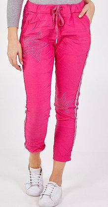 Double Star Side Stripe Magic Pants