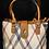 Thumbnail: Designer Inspired Check Tote Bag