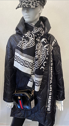 Life is Beautiful Quilted Coat