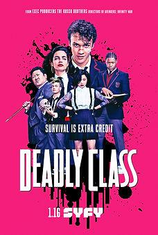 Deadly Class Keyart