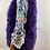 Thumbnail: Couture Feather Amethyst Gilet