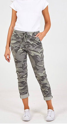 Camo Khaki Magic Trousers