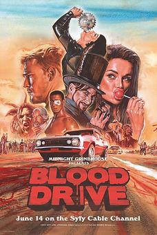 BLOOD DRIVE KEYART