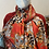 Thumbnail: Reversible Cashmere Mix Scarf Red