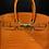 Thumbnail: Patent Orange Crocodile Birkin Bag