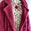 Thumbnail: Margo Hot Pink Teddy Coat