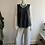 Thumbnail: Silk vest top charcoal