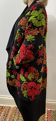 Amber Lagenlook Long Cardi Coat Plus Size