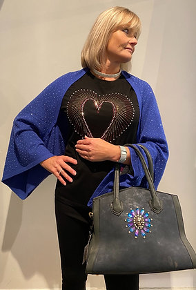 Cashmere Bling Cover Up Shawl, Poncho, Shrug and scarf
