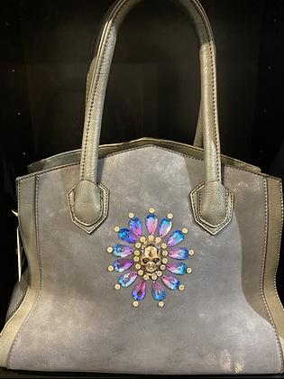 Vivienne Designer Inspired Crystal Skull Bag