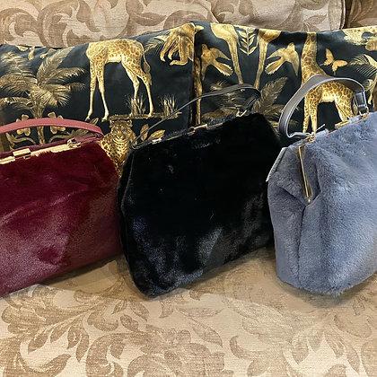 Grace Faux Fur Handbag