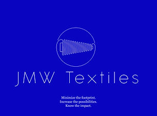 JMW Textiles Logo for Sustainable Living