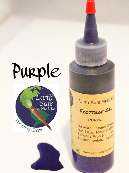 Frottage Gel/ Stain Purple